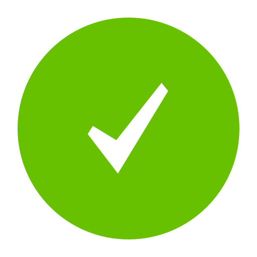 Green Tick Success Image
